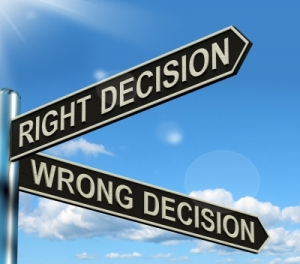 decision-sign